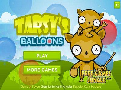 松鼠猴射氣球