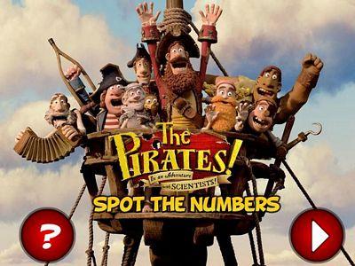 海盜找數字