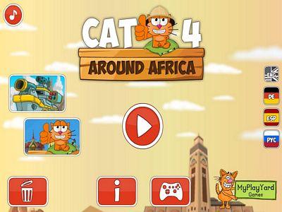 貪吃貓遊非洲
