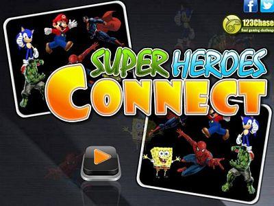 超級英雄連連看