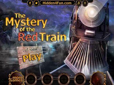 神秘的紅色列車