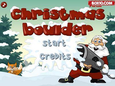 聖誕老人打雪戰