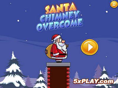聖誕老人走煙囪