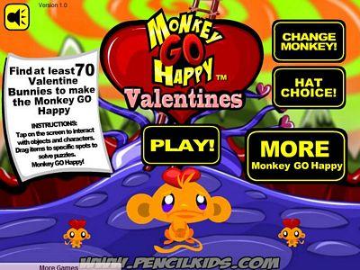 開心猴子:情人節