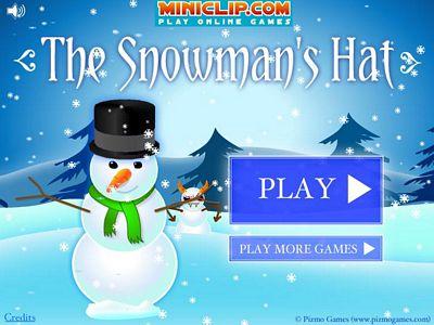 雪人的魔法帽