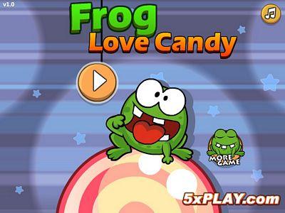 青蛙愛吃糖
