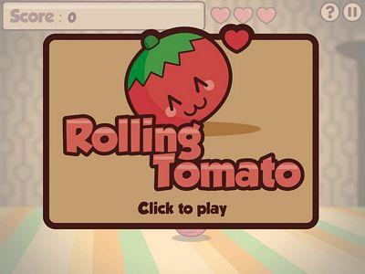 翻滾的番茄