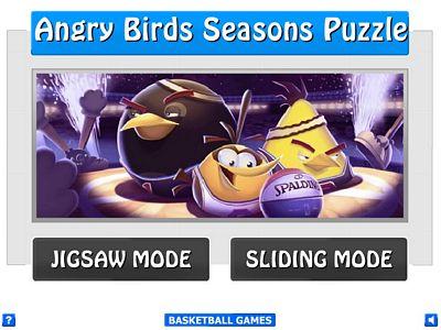 憤怒鳥籃球拼圖
