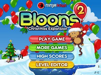 猴子射氣球2:聖誕節