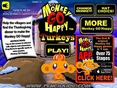 開心猴子:感恩節