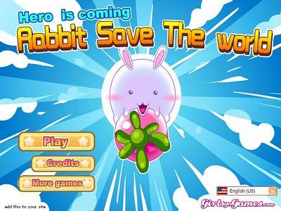 貪吃的兔子