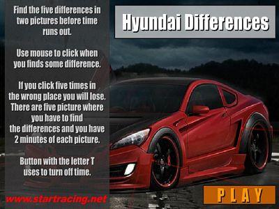 現代汽車找不同