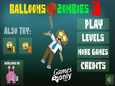 氣球大戰殭屍3:修改版