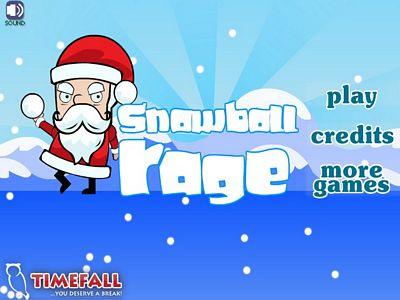 聖誕雪球打怪物