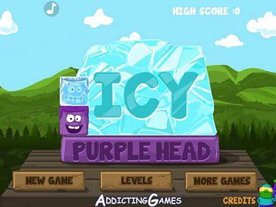 紫色冰塊要回家