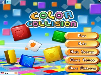 彩色方塊對對碰