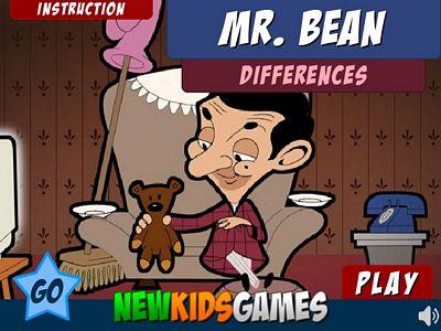 豆豆先生找不同