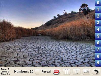 四季風景找數字