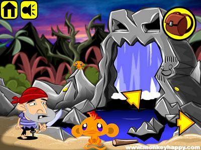 開心猴子:洞穴探險
