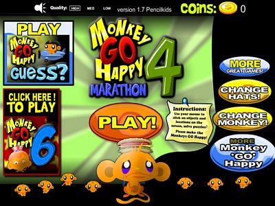 開心猴子4:馬拉松