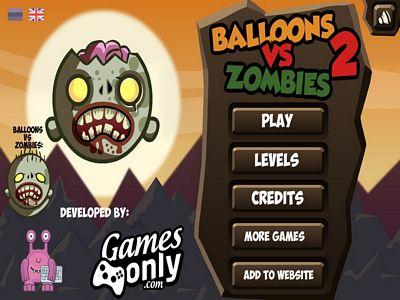 氣球大戰殭屍2