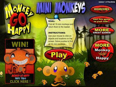 開心猴子:迷你猴