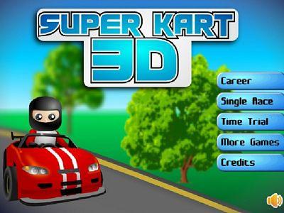 超級3D卡丁車