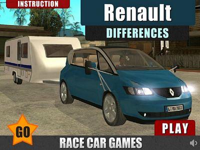 雷諾汽車找不同