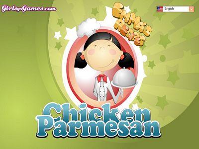帕瑪森烤雞肉