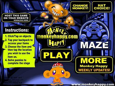 開心猴子:機械迷宮