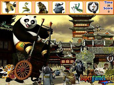 功夫熊貓來找碴