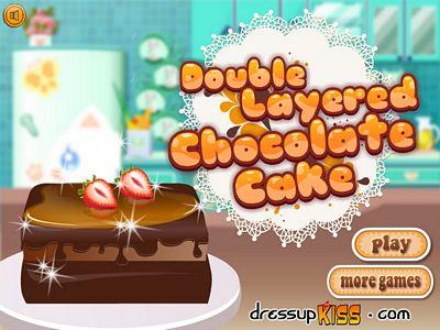 雙層巧克力蛋糕