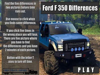 福特F350找不同