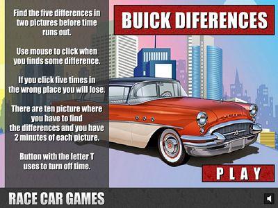 別克汽車找不同