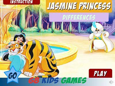 茉莉公主找不同