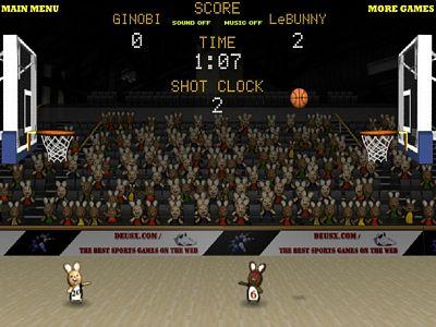 兔子籃球PK賽