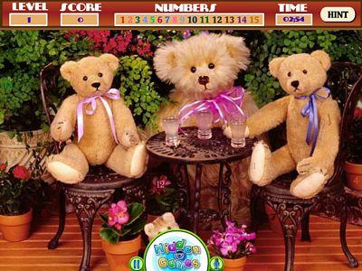 泰迪熊找數字