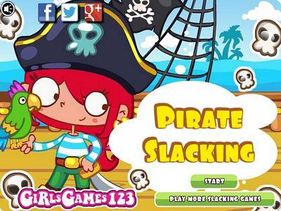 海盜船來偷懶