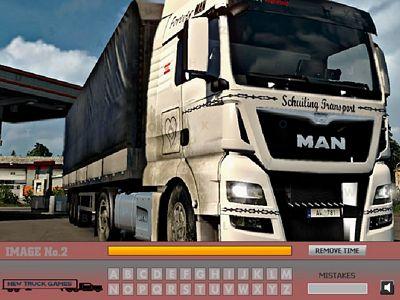 曼恩卡車找字母
