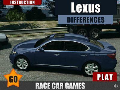 Lexus汽車找不同