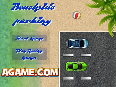 沙灘停車場