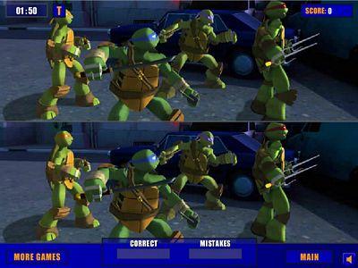 忍者龜找不同