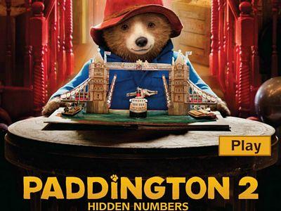 柏靈頓熊找數字2
