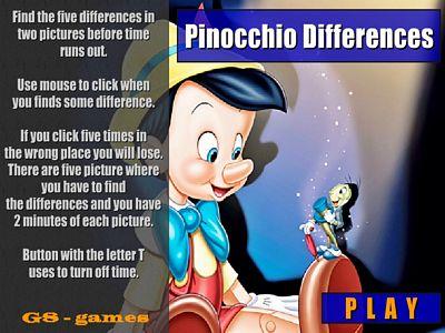 皮諾丘找不同