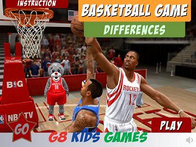 籃球比賽找不同