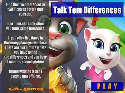 湯姆貓找不同