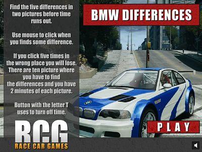 BMW找不同