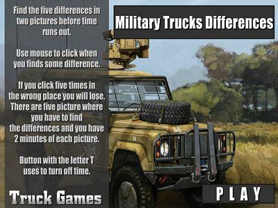 武裝悍馬車找不同