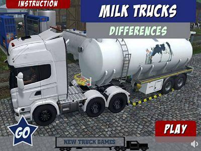 牛奶卡車找不同