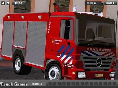消防車找輪胎